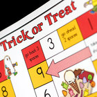 Trick or Treat Halloween Math Game