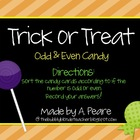 Trick or Treat- Odd & Even Numbers