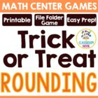 """Trick-or-Treat""  Rounding Game- {CCSS Aligned}"