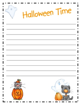 Trick or Treat Writing