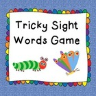 Tricky Sight Words Game