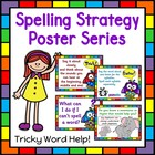 Tricky Word Help Spelling Posters
