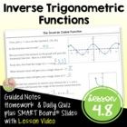 Trigonometric Functions Lesson 6: Inverse Trigonmetric Functions