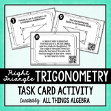 Trigonometry Practice Task Cards - with QR Codes
