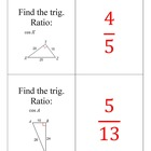 Trigonometry Scavenger Hunt