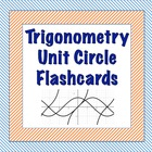 Trigonometry Unit Circle Flashcards
