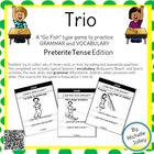 Trio Card Game - Preterite-- Completed set -- ready to pri