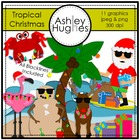 Tropical Christmas {Graphics for Commercial Use}