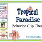 Tropical Paradise Behavior Clip Chart