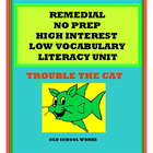 Trouble the Cat     A Complete Literacy, Math, Writing, Gr