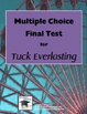 Tuck Everlasting Multiple Choice Test