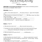 Tuck Everlasting Natalie Babbit Complete lit unit 34 pages