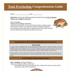 Tuck Everlasting Reading Novel Bundled Activities Common Core