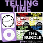Tune Into Telling Time Bundle (4-in-1 Pack)