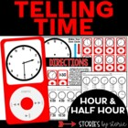 Tune Into Telling Time: Time to the Hour and Half Hour