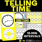 Tune Into Telling Time: Time to the Quarter Hour