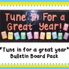 Tune in For a Great Year Bulletin Board Pack