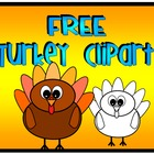 Turkey Clip Art FREE for Personal or Commercial Use
