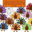 Turkey Clipart FREE!
