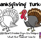 Turkey Clipart Freebie