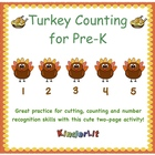 Turkey Counting for Pre-K