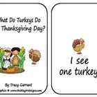 Turkey Emergent Reader and Number Sense Cards