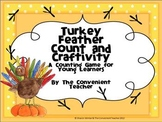Turkey Feather Count and Craftivity