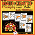 Turkey Fractions & Pumpkin Pie, Oh My!
