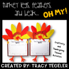 Turkey Legs, Feathers, &amp; Beak OH MY!  {Thanksgiving Crafti