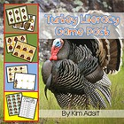 Turkey Literacy Game Pack