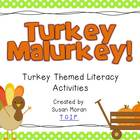 Turkey Malurkey! {Turkey Themed Literacy Activities}