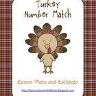 Turkey Number Match Numbers 1-12