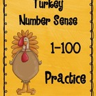 Turkey Number Sense 1-100