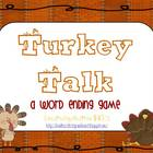 Turkey Talk: A Word Ending Game