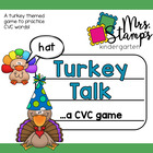 Turkey Talk... a CVC Game!