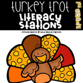 Turkey Trot Literacy Centers {8 Hands-on Literacy Centers}