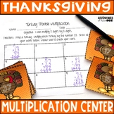 Turkey Trouble Multiplication Hunt (2 digits by 2 digits)