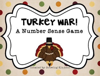Turkey War! A Number Sense Game