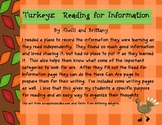 Turkeys: Read for Information