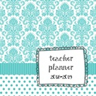 Turquoise Teacher Planbook