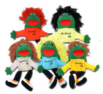 Turtle Puppets - Set of 5