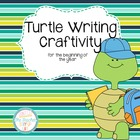 Turtle Writing Craftivity - Back to School