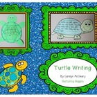 Turtle Writing (graphic organizers, papers, easy reader, c