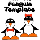 Tux the Penguin Template