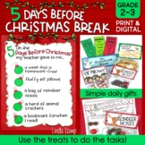 The 5 Days Before Christmas Break Printables/Activity Book