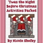 'Twas the Night Before Christmas Reading Activity Packet