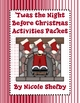 &#039;Twas the Night Before Christmas Reading Activity Packet