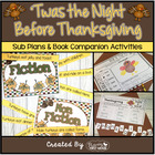 &#039;Twas the Night Before Thanksgiving ~ Booktivities for the
