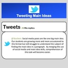 Tweeting Main Ideas