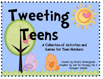 Tweeting Teens - Games & Activities for Teen Numbers